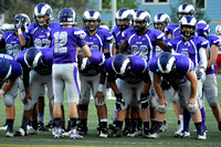 Deering Varsity Football vs Sandford Fall 2015