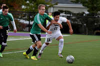 Deering Varsity Boys Soccer vs Massabesic 2015