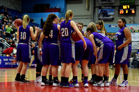 Deering Girls Bball vs Oxford Hills Playoffs 2016