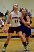 Lincoln 8th Grade Girls Bball vs Gorham 2016