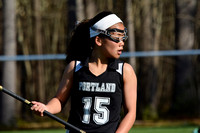 Portland Middle School Lax vs kennebunk 2016