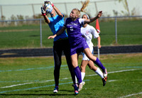 Deering Varsity Girls Soccer vs SoPo Sept 28, 2013