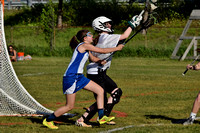 Portland Middle School Lax vs Kennebunk 7th and 8th 2016