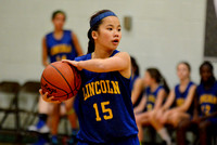 Lincoln Lions 7th Grade Girls vs King 2015