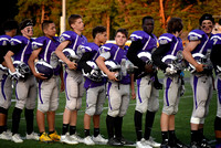 Deering Football and Cheering vs Scarboro 2017