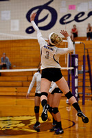 Deering vs Portland Volleyball 2017