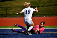 Deering Girls Soccer v Portland and SoPo 2017
