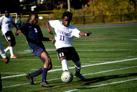 Deering Boys Soccer Playoff v Westbrook and v BE