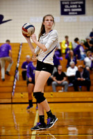 Deering Volleyball vs SoPo Playoff 2017