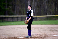 Portland vs Deering JV softball 2017