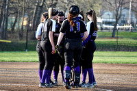 Deering Softball vs noble 2017