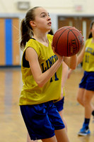Lincoln Lions 7th & 8th Grade Girls Scrimmage 2015