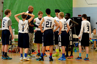 BlueWave 7th Grade Boys - Campbell & Stannard @ Lincoln Middle School 2015