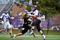Deering Boys Varsity and JV Lax vs Marshwood 2017