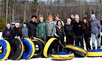 Lincoln 8th grade Physics of Snow tubing 2016